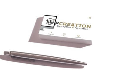 Carte de visite Wpcreation